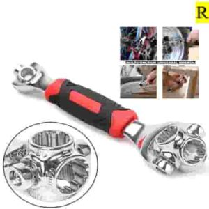 48 in 1 Socket Wrench Tools Works with Spline Bolts Torx 360 Degree