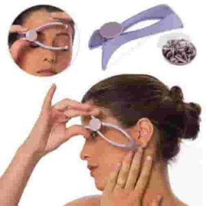 Eyebrow Face and Body Hair Threading and Removal System for Women