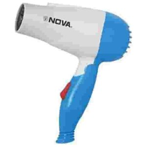 Folding Hair Dryer with 2 Speed Control 1000W